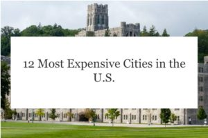 Most Expensive Cities in the U.S