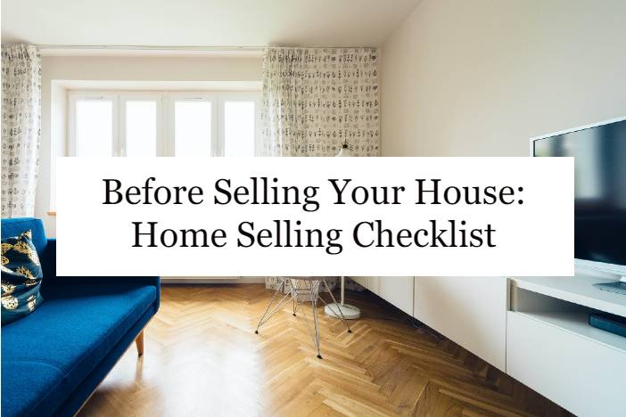 Before selling your house
